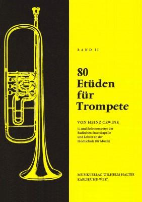80 Etüden für Trompete - Band 2