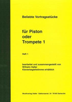 Beliebte Vortragsstücke für Trompete Heft 1 - 1. Stimme