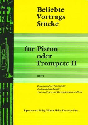 Beliebte Vortragsstücke für Trompete Heft 1 - 2. Stimme