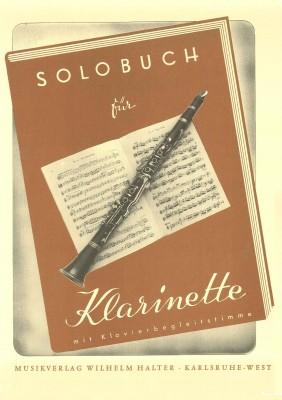 Solobuch für Klarinette - Klavierstimme