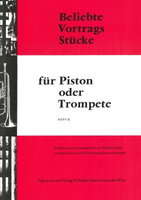 Beliebte Vortragsstücke für Trompete Heft 2 - 1. Stimme