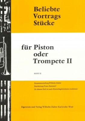 Beliebte Vortragsstücke für Trompete Heft 2 - 2. Stimme