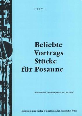 Beliebte Vortragsstücke für Posaune / HEFT 1 - Klavierstimme