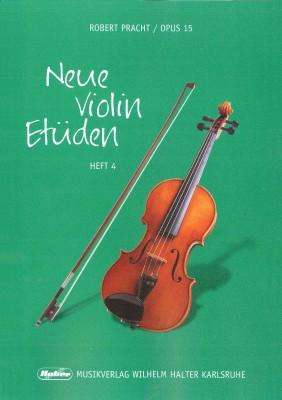 Neue Violin Etüden - Heft 4
