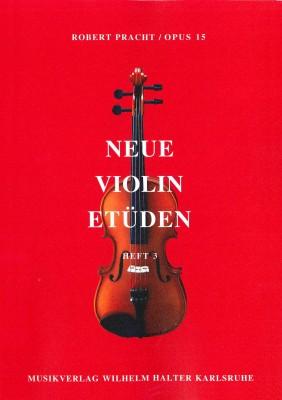 Neue Violin Etüden - Heft 3