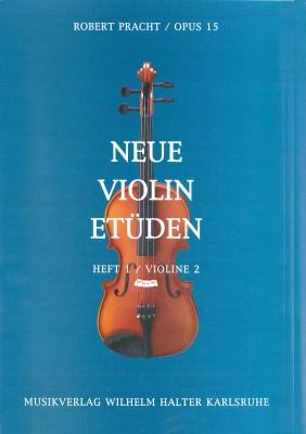 Neue Violin Etüden - Heft 1 (Violine 2)