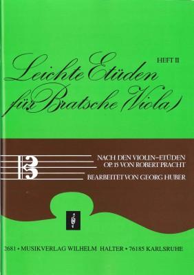 Leichte Etüden für Bratsche / Viola - Heft 2