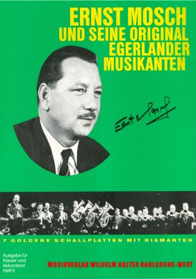 Ernst Mosch - Akkordeon Heft 5