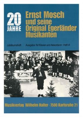Ernst Mosch - Akkordeon Heft 6 JUBILÄUMSBAND I