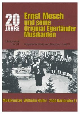 Ernst Mosch - Akkordeon Heft 7 JUBILÄUMSBAND II