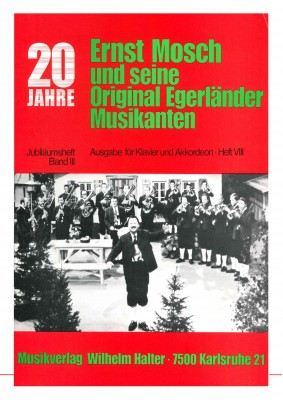 Ernst Mosch - Akkordeon Heft 8 JUBILÄUMSBAND III