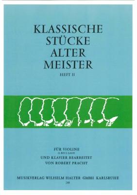 Klassische Stücke alter Meister - Heft 2