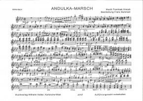 Andulka Marsch (Kleine Besetzung)
