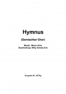 Hymnus - CHORSATZ für GEMISCHTEN CHOR
