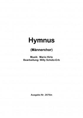 Hymnus - CHORSATZ für MÄNNERCHOR