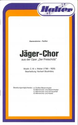 Jägerchor aus dem Freischütz - KLAVIERPARTITUR