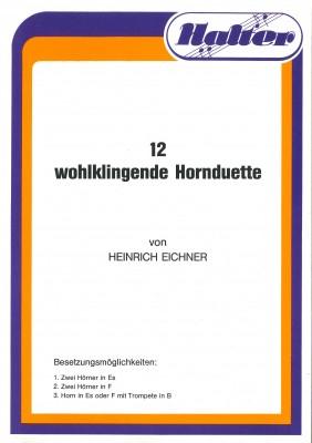 12 wohlklingende Hornduette