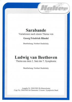 Ludwig van Beethoven (Thema aus dem 2. Satz der 7. Symphonie)