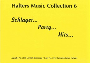 Schlager - Party - Hits (Collection 6) 2. Stimme in Es: 2. Altsaxophon