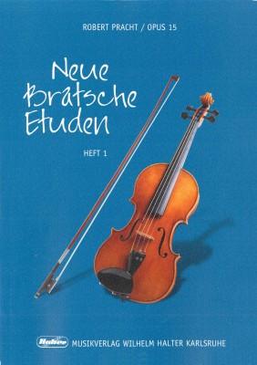 Neue Bratsche Etüden - Heft 1