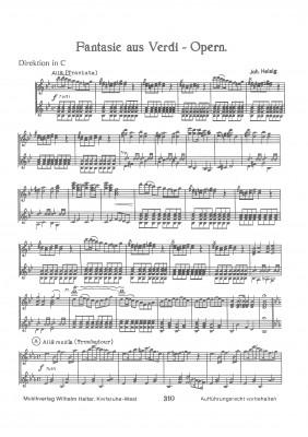 Fantasie aus Verdi Opern