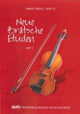 Neue Bratsche Etüden - Heft 3