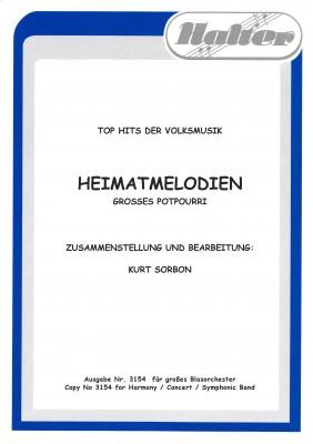 Heimatmelodien - Ausgabe für Blasorchester