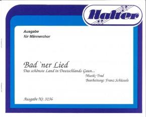 Badner Lied - CHORSATZ für MÄNNERCHOR