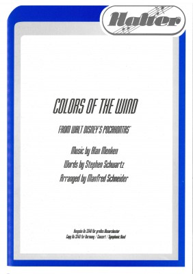 Colors of the Wind (Pocahontas)