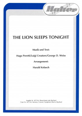 The Lion sleeps tonight (Wimoweh)