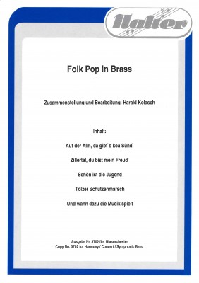 Folk Pop in Brass