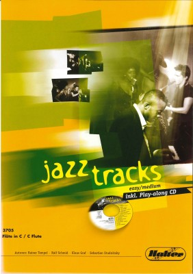 JAZZ TRACKS (easy / medium) - Flöte in C