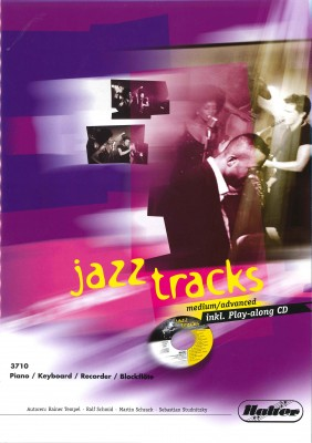 JAZZ TRACKS (medium / advanced) - Piano / Keyboard