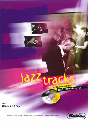 JAZZ TRACKS (medium / advanced) - Flöte in C