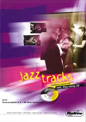 JAZZ TRACKS (medium / advanced) - Tenorsaxophon in Bb