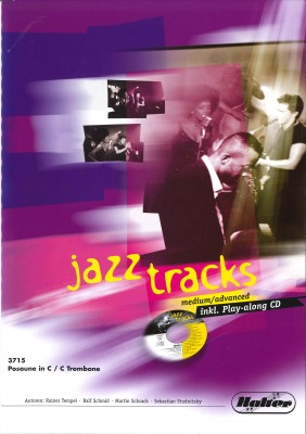 JAZZ TRACKS (medium / advanced) - Posaune in C