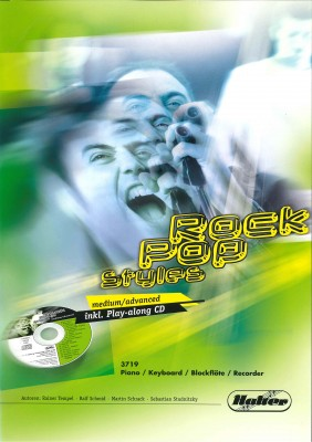 ROCK POP STYLES (medium / advanced) - Piano / Keyboard