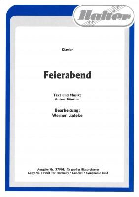 Feierabend - KLAVIERPARTITUR