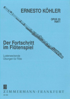 Der Fortschritt im Flötenspiel - Heft 1