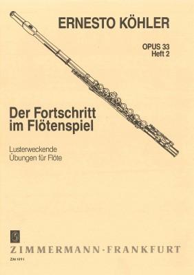 Der Fortschritt im Flötenspiel - Heft 2