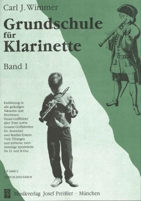 Grundschule für Klarinette - Band 1