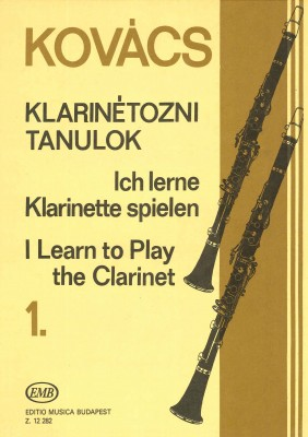 Ich lerne Klarinette spielen - Band 1