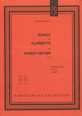Schule für Klarinette - Teil 2