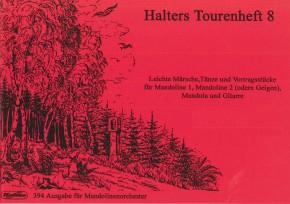 Halters Tourenheft 8