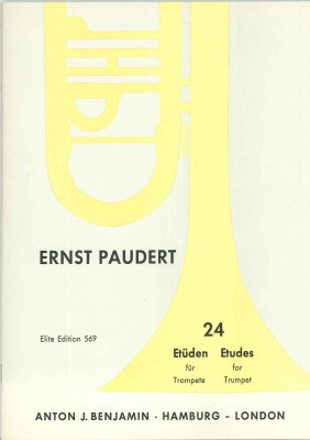 24 Etüden für Trompete