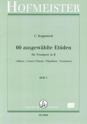 60 ausgewählte Etüden - Heft 1