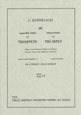60 ausgewählte Etüden für Trompete - Heft 2