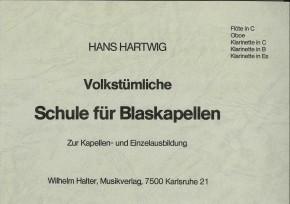 Volkstümliche Schule für Blaskapellen - HOLZ