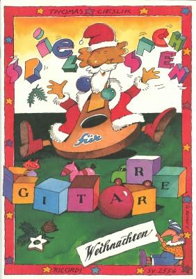 Spielsachen für Gitarre (Weihnachten)