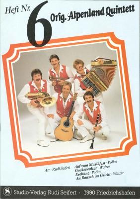 Original Alpenland Quintett - HEFT 6
